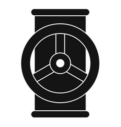 Valve icon simple style vector