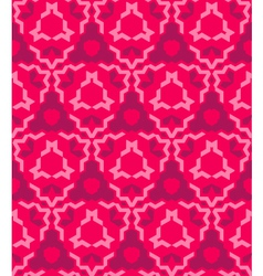 abstract geometric red pink seamless pattern vector image vector image