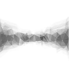 monochrome triangle vector image