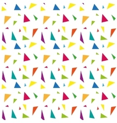 Festive confetti seamless pattern Modern vector image