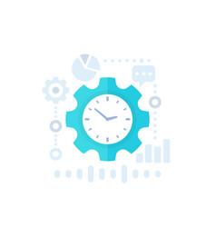 Productivity productive capacity icon vector