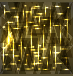 Shiny bronze color pattern of shards and stripes vector