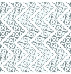 Stylized four-petal flower background vector