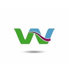 VV logo vector image