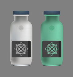 packaging design vector image