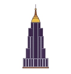 United states capitol isolated icon design vector
