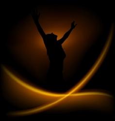 magic dance vector image