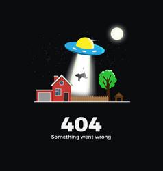 404 error concept vector image