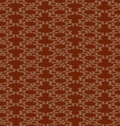Abstract background with rounded shapes brown vector image