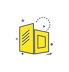 buildings icon design vector image