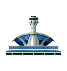 emblem Airport vector image