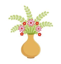 Flower vase vector