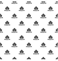 Good night pattern seamless vector