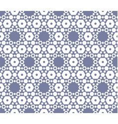 Hexagon texture vintage seamless pattern in soft vector