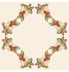 Ottoman motifs oriental design portfolio nine vector image