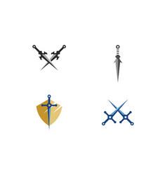 Sword logo vector