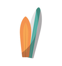 surfboards icon image vector image