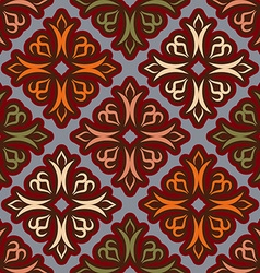 Uzbek pattern Traditional national pattern of vector image