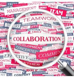 Collaboration vector
