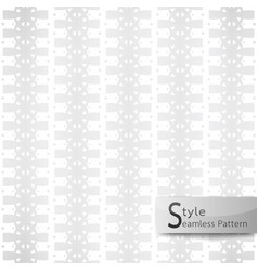 abstract seamless pattern flower row bow ribbon vector image vector image