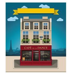 european cafe vector image