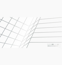 abstract perspective lines pattern background vector image