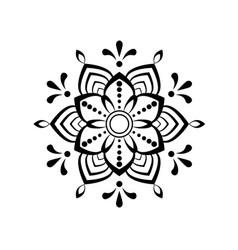 beautiful mandala stock vector image