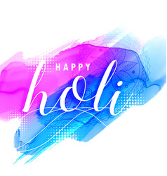 Colorful background of holi festival vector