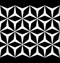 Geometric texture polygonal floral ornament vector