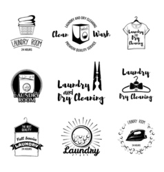 laundry basket washing machine a clothes vector image