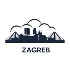 Zagreb Emblem vector image vector image
