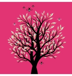 Excellent visual trees vector image vector image