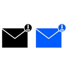 message download mail vector image