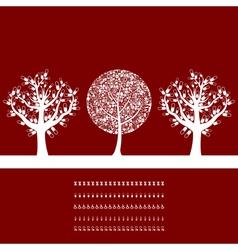 Tree medicine2 vector image vector image