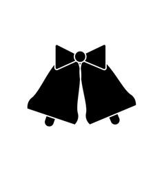 bells wedding icon sign o vector image