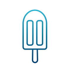 delicious posicle ice vector image