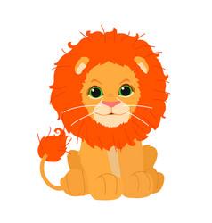 flat cartoon animal clip art vector image