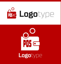 Red prostake icon isolated on white vector