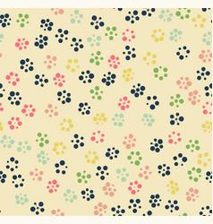 Seamless pattern circle vector