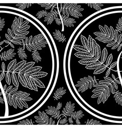 Seamless tree pattern 09 vector