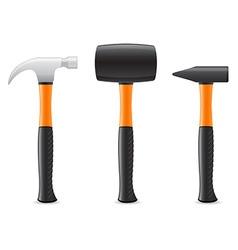 tool hammer 04 vector image