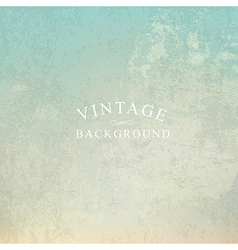 vintage background with text template vector image