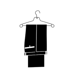 suit pants icon image vector image