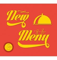 Restaurant Menu Card Design template vector image vector image