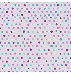 seamless abstract background of dots and strips vector image