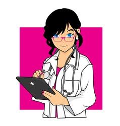 Beautiful Doctor vector