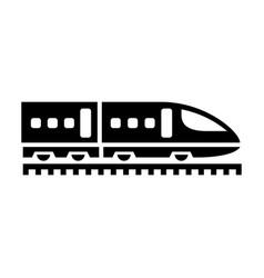 black icon isolated on white background flat style vector image
