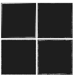 Dark frame set vector