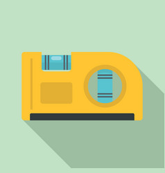Level angle tool icon flat style vector