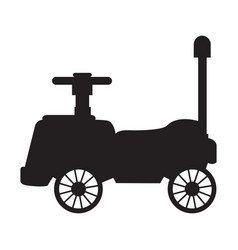isolated truck toy vector image vector image